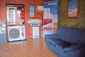 Oficinas de Safeclima instalación de suelo radiante
